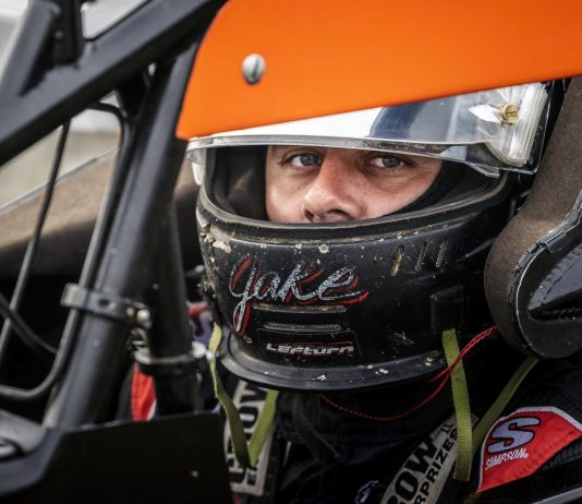 Jake Swanson has joined Team AZ for the full USAC AMSOIL National Sprint Car Series schedule in 2021. (Rich Forman Photo)