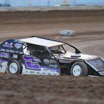 Arizona Karl Kustoms Northern SportMod Dirt Track Tour Champion Taylor Kuehl. (Melissa Coker Photo)