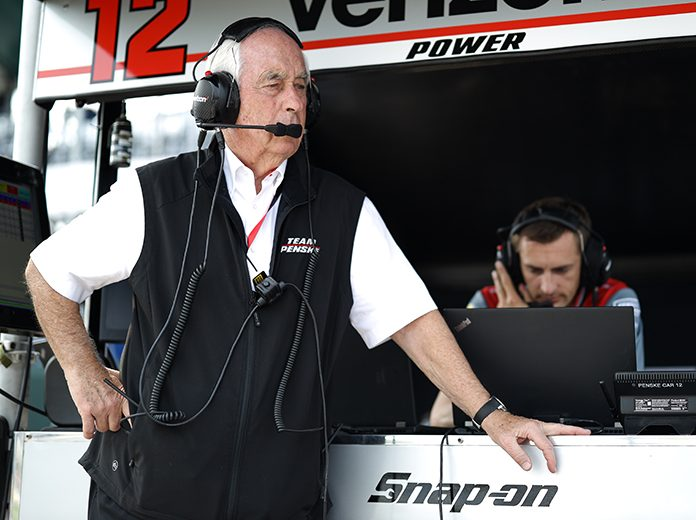 Roger Penske had a great deal of respect for the late Pat Patrick, who passed away recently at the age of 91. (IndyCar Photo)