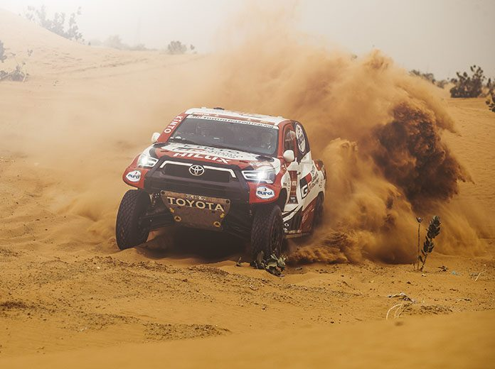 Giniel de Villiers was the winner of the fifth stage of the Dakar Rally on Thursday. (Red Bull Photo)
