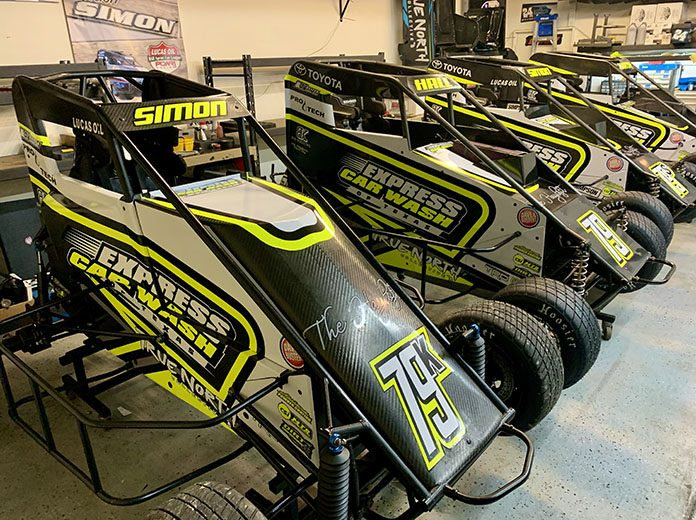 Landon Simon will drive for Ryan Hall Racing during the upcoming Lucas Oil Chili Bowl Nationals.
