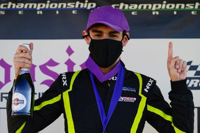 Dylan Christie has joined Turn 3 Motorsports for the upcoming USF2000 season.