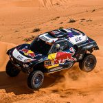 Carlos Sainz Sr. picked up a stage victory Friday during the Dakar Rally. (Red Bull Photo)