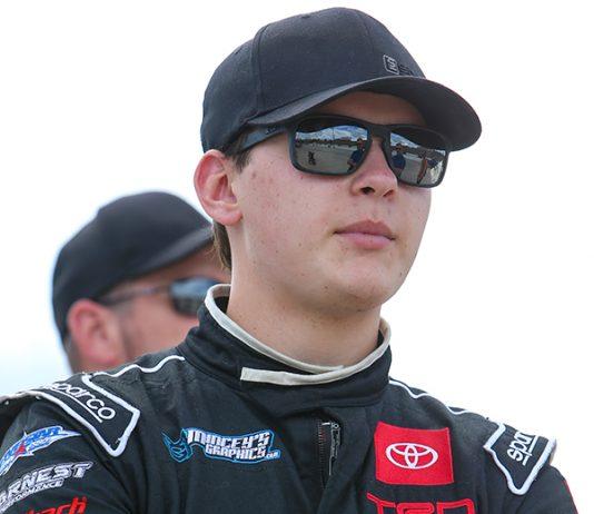 Corey Heim will chase the ARCA Menards Series title this season with Venturini Motorsports. (Adam Fenwick Photo)