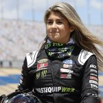 Hailie Deegan will be required to take sensitivity training prior to the start of the NASCAR season. (HHP/Harold Hinson Photo)