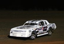 Sniper Speed Lone Star Tour for IMCA Sunoco Stock Cars Champion Westin Abbey. (Stacy Kolar Photo)