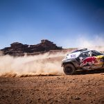 Stephane Peterhansel won Tuesday's Dakar Rally stage to extend his overall lead. (Red Bull Photo)