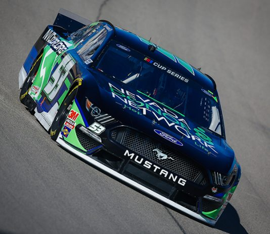 Joey Gase will return to Rick Ware Racing in 2021. (HHP/Chris Owens)