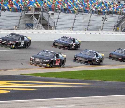 The ARCA Menards Series open test began Friday at Daytona Int'l Speedway. (Jason Reasin Photo)