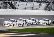 ARCA Menards Series testing at Daytona Int'l Speedway concluded on Saturday. (Jason Reasin Photo)