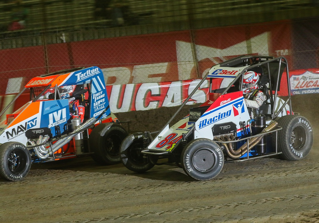 Bell 'Laid It All On The Line' In Chili Bowl Finale