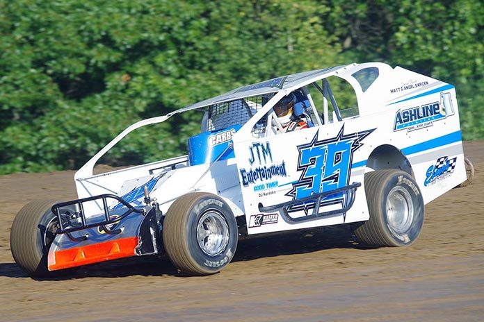 Dylan Bokus will move up to the sportsman class during the upcoming racing season in the Northeast. (Mark Brown Photo)