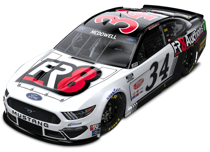 Fr8Auctions has expanded its sponsorship support of Michael McDowell and Front Row Motorsports.
