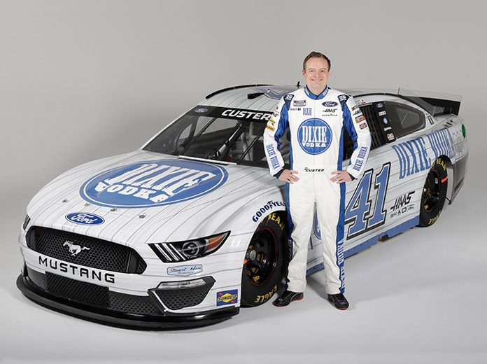 Dixie Vodka has joined Stewart-Haas Racing and will sponsor Cole Custer in two NASCAR Cup Series events.