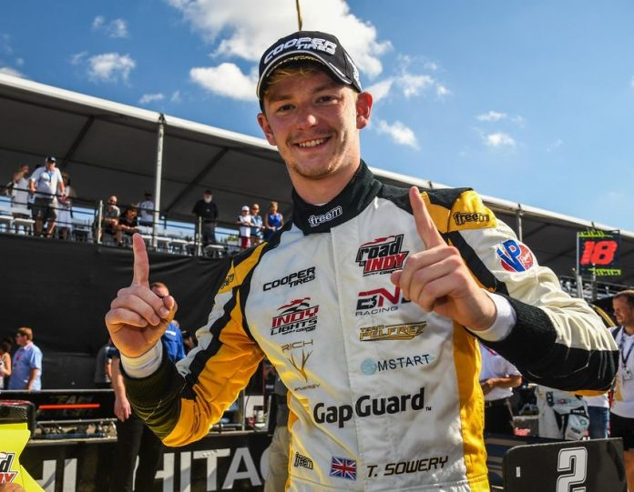 Toby Sowery has joined Juncos Racing for the upcoming Indy Lights campaign.