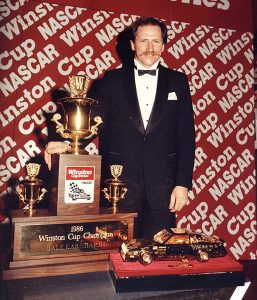 Dale Earnhardt earned his second NASCAR Cup Series championship in 1986. (ISC Archives via Getty Images photo)