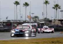 Marco Wittman, driving the No. 24 BMW for Team RLL, was fastest in GT Le Mans qualifying for the Motul Pole Award 100 at Daytona Int'l Speedway. (IMSA Photo)