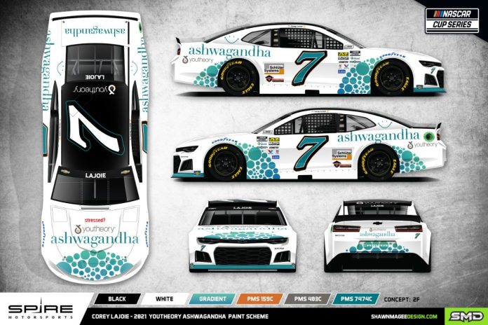Youtheory will sponsor Spire Motorsports and Corey LaJoie during the Daytona 500.
