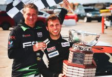 Preston Pardus (right) will race at his home track, Daytona Int'l Speedway, this weekend in the Mazda MX-5 Cup Series.