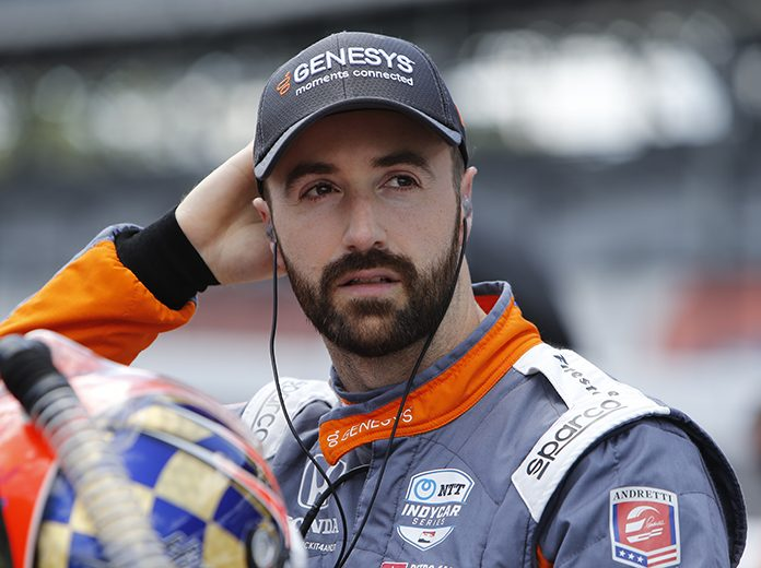 James Hinchcliffe will return to full-time status in the NTT IndyCar Series with Andretti Autosport. (IndyCar Photo)