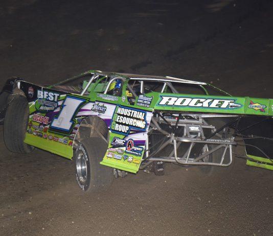 Tyler Erb at East Bay Raceway Park. (Paul Arch photo)