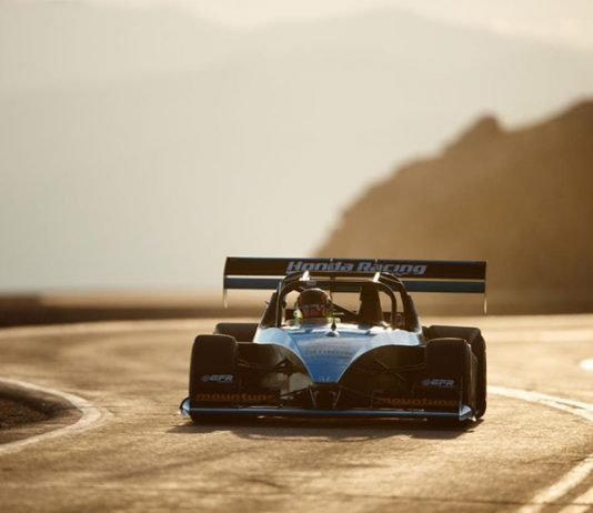 Robin Shute will return to the Pikes Peak Int'l Hill Climb this year after sitting out the 2020 edition of the event due to the COVID-19 pandemic. He won the event overall in 2019.