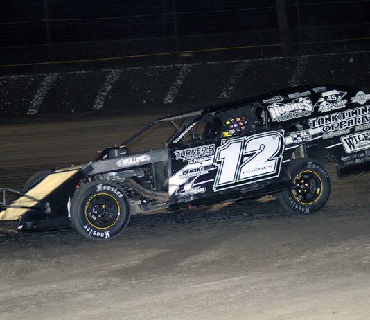 Jason Hughes at Volusia Speedway Park. (Jim DenHamer photo)