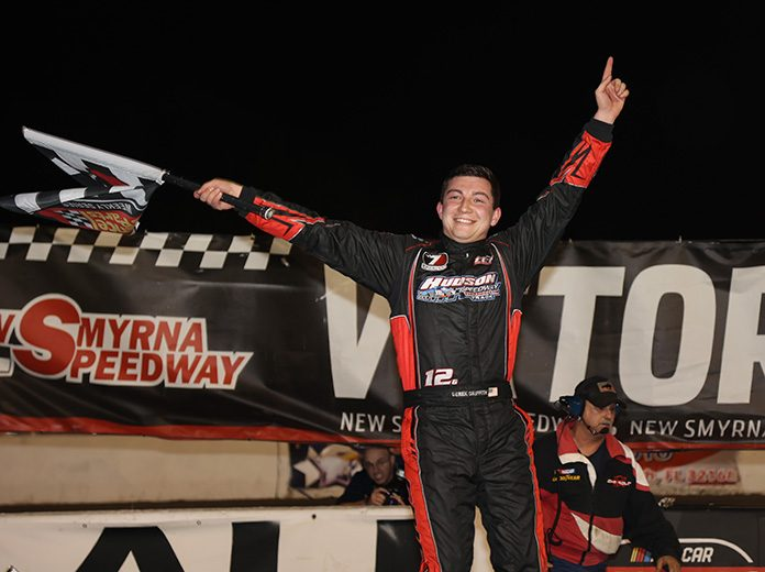 Derek Griffith was the top dog on night two of the World Series of Asphalt Stock Car Racing at New Smyrna Speedway. (Jim DuPont Photo)