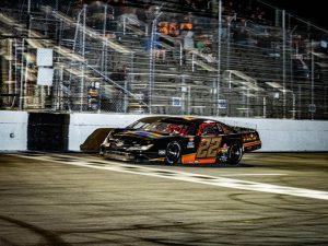 Sammy Smith in action Sunday at New Smyrna Speedway. (Jason Reasin Photo)