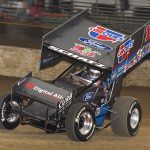 Donny Schatz has moved to the top of the Eastern Sprint Rankings. (Paul Arch Photo)