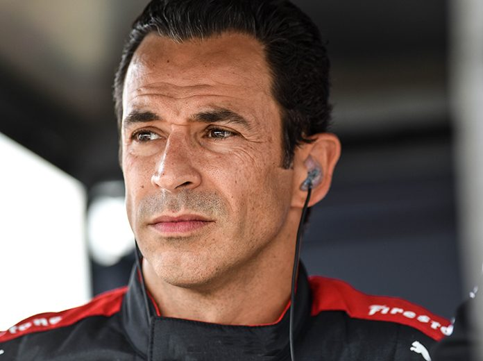 Helio Castroneves will compete in the inaugural Music City Grand Prix later this year.