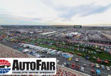 Charlotte Motor Speedway has canceled its Spring AutoFair event.