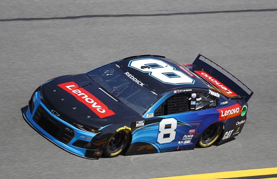 Starting 29th in his third Daytona 500, Tyler Reddick in the No. 9 Richard Childress Racing Chevrolet. (HHP/Harold Hinson Photo)