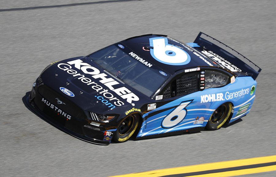 Starting seventh in his 20th Daytona 500, Ryan Newman in the No. 6 Roush Fenway Racing Ford. (HHP/Harold Hinson Photo)