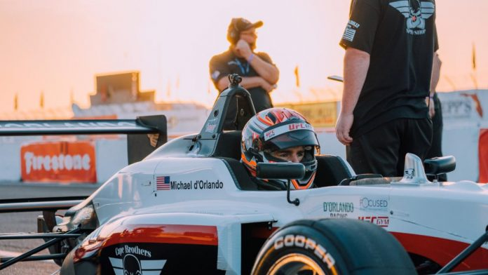 Michael d'Orlando is back for another season with Cape Motorsports in the Cooper Tires USF2000 Championship.