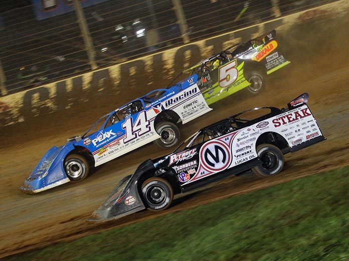 The Ultimate Super Late Model Series has announced a new event, the Queen City 50, that will be held at The Dirt Track at Charlotte. (Blake Harris Photo)