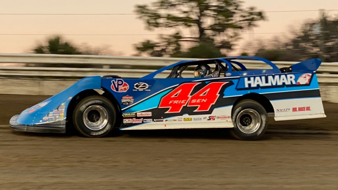Stewart Friesen will race with the Drydene Xtreme DIRTcar Series this weekend in South Carolina.