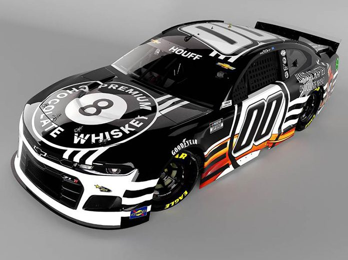8-Ball Premium Chocolate Whiskey will sponsor Quin Houff and StarCom Racing in multiple NASCAR Cup Series events.
