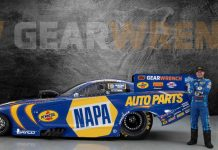 GearWrench has partnered with Don Schmuacher Racing and NHRA Funny Car driver Ron Capps.