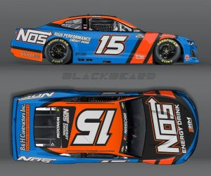 Chris Windom will drive for Rick Ware Racing when he makes his NASCAR Cup Series debut during the Bristol Motor Speedway dirt event.