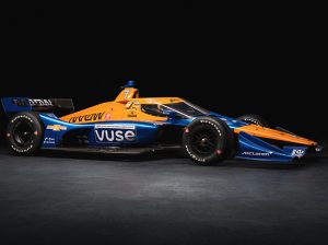 Felix Rosenqvist will drive the No. 7 Vuse entry for Arrow McLaren SP this season.