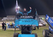 Jamie Veal was the winner of the Sprintcar Showdown Saturday at Premier Speedway in Australia.