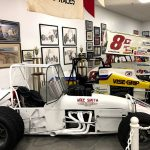 A dozen Knoxville Nationals race winning cars are currently on display at the National Sprint Car Hall of Fame & Museum.