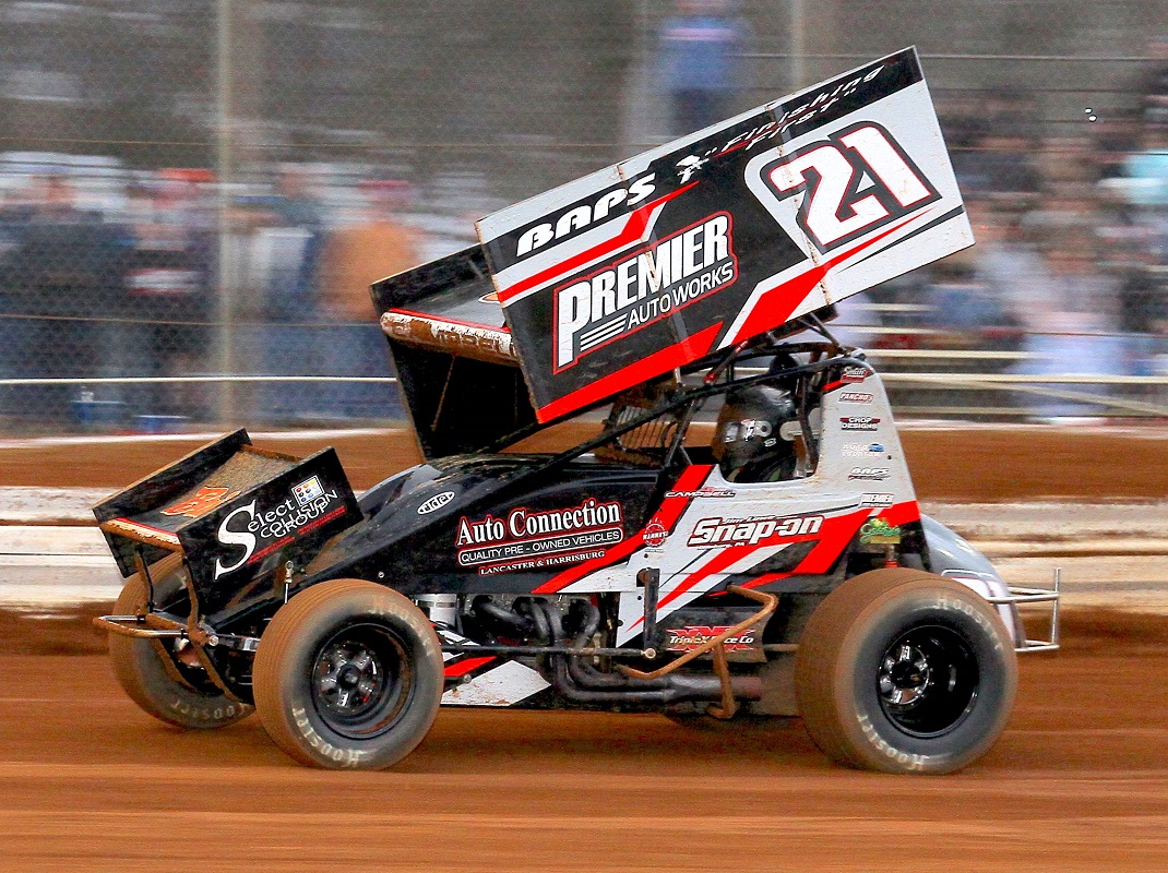 Campbell Starts Strong With Premier Racing Team
