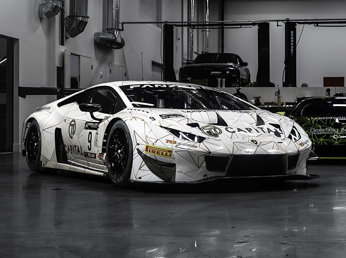 TR3 Racing will utilize Lamborghini Huracan GT3 this year in the Fanatec GT World Challenge America Powered by AWS.