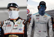 Austin Dillon (left) and Corey LaJoie (right) will drive for Cory Hedgecock Racing during the Bristol Dirt Nationals. (HHP Photos)