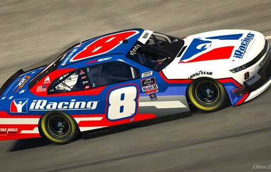 iRacing will sponsor Josh Berry at Nashville Superspeedway on June 19.