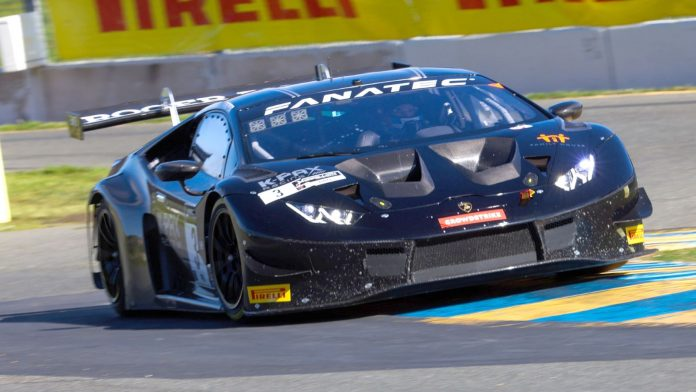 KPAX Racing's Andrea Caldarelli and Jordan Pepper topped the GT World Challenge opener on Saturday at Sonoma Raceway.