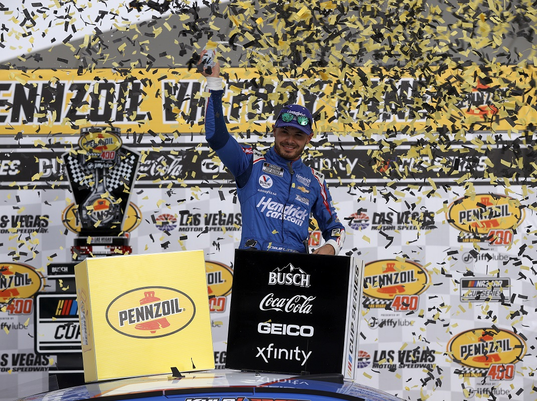 Larson Wins Big For Hendrick Motorsports In Vegas