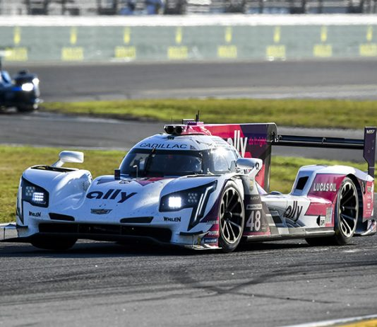 Jimmie Johnson is excited to take on Sebring Int'l Raceway this weekend during the 12 Hours of Sebring. (IMSA Photo)